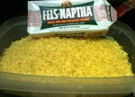 Grated Fels Naptha soap